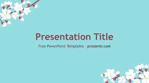 Spring Powerpoint Background Free Spring Powerpoint Template Prezentr Ppt Templates