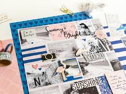 Cute Beach Theme Scrapbook Idea Maggie Holmes Design
