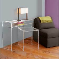acrylic office furniture. Fascinating Ghost Desks From Clear Acrylic For Office Furniture . N