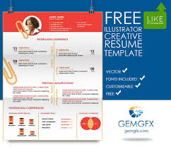 Simple Illustrator Resume Template FREE Download On Behance Mesmerizing Illustrator Resume