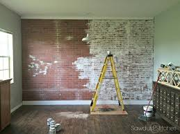 stylish ways to bring brick wallpaper