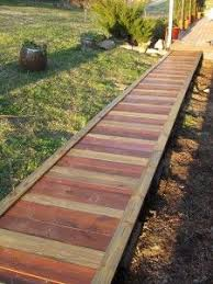 The Homestead Survival | How To Build A Wooden Garden Walkway | http://