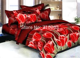 fall bedding fall autumn high quality reactive plant cotton 4 bedding set duvet cover fitted sheet