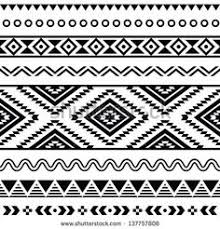 black and white tribal background tumblr. Tribal Seamless Pattern Aztec Black Signs On White Background Stock Vector To And Tumblr