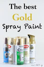 Looking for the best gold spray paint?