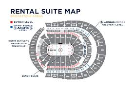 La Crosse Center Seating Chart Ticketmaster Seating Charts Bridgestone Arena
