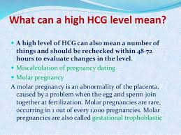 Beta Hcg And Pregnancy Dating Hcg Levels Chart During Pregnancy