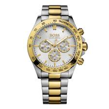 hugo boss gold tone and stainless steel chronograph men s watch hugo boss gold tone and stainless steel chronograph men s watch