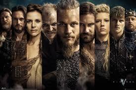 Vikings Grid Plakát Obraz Na Zeď Posterscz