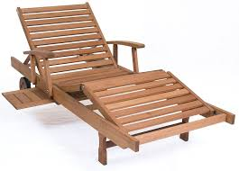 wooden outdoor lounge chair plans designs