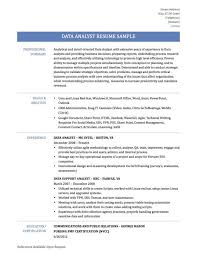 Data Analyst Resume Examples | Musiccityspiritsandcocktail.com