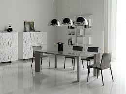 Simple Minimalist Dining Room In Modern Table Set For Kitchen Decor