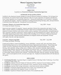 Carpenter Resume Template Gorgeous Finisher Certificate Template Awesome Sample Carpenter Resume