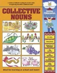 Chart Of Collective Noun Building Fundamentals Activity Book Collective Nouns