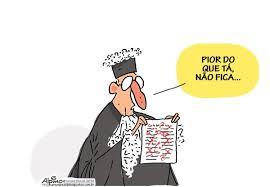 Resultado de imagem para conflito judiciário executivo charge
