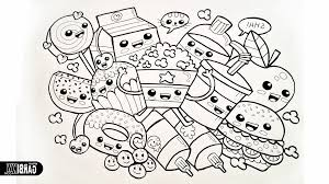 Free Printable Food Coloring Pages For Kids Inside Page