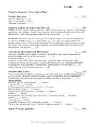 Executive Summary Outline 4 Nice Sample Of A Marketing Plan Executive Summary