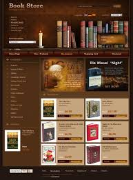 Free Bookstore Website Template Book Store Oscommerce Template Id 300110265