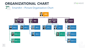 Org Chart Powerpoint Slide Organizational Charts For Powerpoint