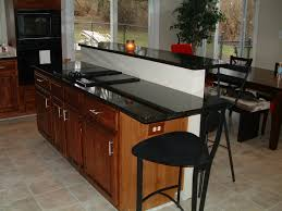 awesome counterops for kitchens options fascinating kitchen countertops options with black concrete glass over the