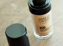 make up for ever hd foundation 115