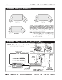 msd 6tn wiring diagram msd automotive wiring diagrams msd 6430 6aln ignition control installation page16
