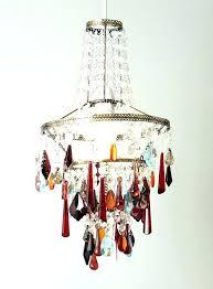 multi coloured chandelier multicoloured