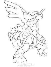 Coloring Pages Pokemon Zekrom X