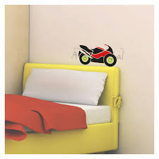 racing bike activity wall decal kd3035