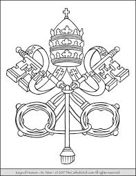 Small Picture pope Archives The Catholic Kid Catholic Coloring Pages and