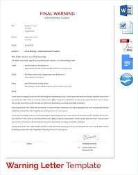 Warning Letter Template Free Download Copy 20 Luxury Letter Template ...