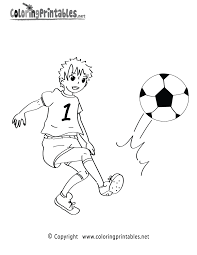 Small Picture Soccer Game Coloring Page A Free Sports Coloring Printable