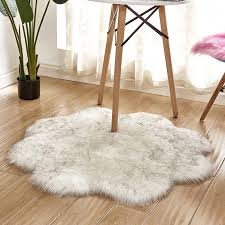 star artificial wool carpet sheepskin carpets faux mat seat pad fluffy soft area rug tapetes 60cm carpet tile shaw rug from sakuna