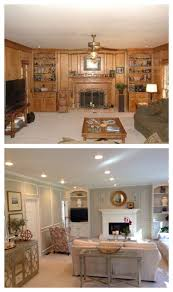 What Color Do I Paint My Living Room Painting Wood Paneling To Make It Look Cottagey Instead Of Out