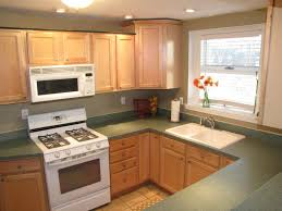 White Appliance Kitchen Kitchen White Thomasville Kitchen Cabinet With Laminated
