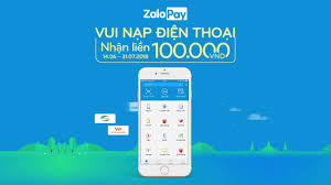 ZaloPay - Cách nạp điện thoại Viettel, Mobiphone, Vinaphone nhận voucher  100k - YouTube