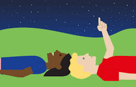 Image result for star gazing clipart