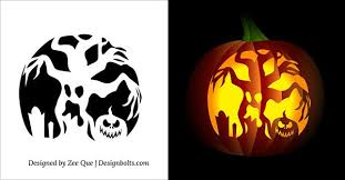 Free Printable Pumpkin Carving Patterns New 48 Free Printable Scary Pumpkin Carving Patterns Stencils Ideas