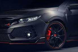 honda civic 2018 black. plain honda 2018 honda civic type r brembo brakes  with black
