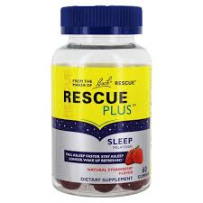 Lights Out Sleep Allmax Review Bach Flower Remedies Rescue Plus Sleep Melatonin Strawberry 60 Gummies