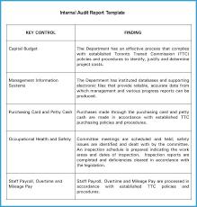 Internal Audit Program Template