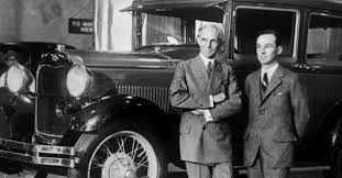 Video: Edsel and Henry Ford Unveil the 1928 Model A | Mac's Motor City  Garage
