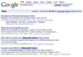 Google Bombing Wikipedia