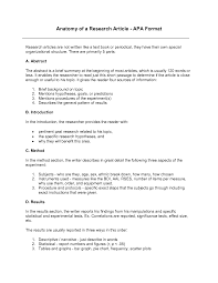 Apa Format For Article Review Example Apa Outline Examples Pdf