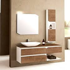 wall-hung washbasin cabinet / wooden / PVC / contemporary