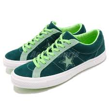 Converse One Star Size Chart Details About Converse One Star Green White Suede Men Women Casual Shoes Sneakers 161614c