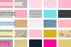 Polkadot Stripe Color Schemes For Baby Girl Nursery Motif Colorful  Different Sizes Types House Decora