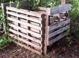 outdoor pallet wood. Pallet Compost Bin Outdoor Wood E