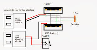 usb otg cable wiring diagram usb wiring diagrams
