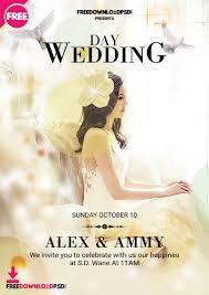 Wedding Flyer Template Psd Freedownloadpsd Com